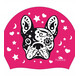 Turbo Swim Perrito Swimming Cap Fuchsia
